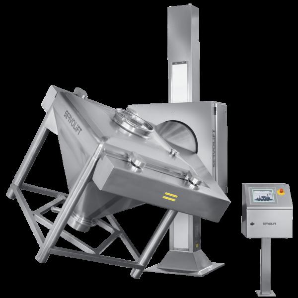 Mezclador GMP para contenedores IBC