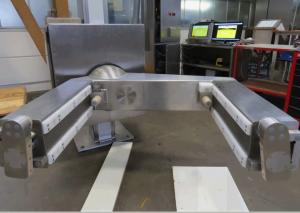 Mezclador adaptado al contenedor con fijación tubular